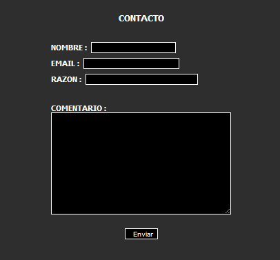 Module Contact : Spanish translation